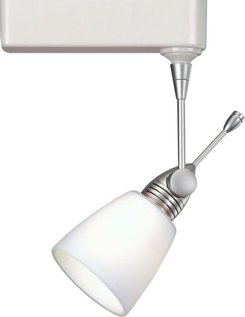 wac cased glass mr16 white track head for lightolier modern track lightin. Black Bedroom Furniture Sets. Home Design Ideas
