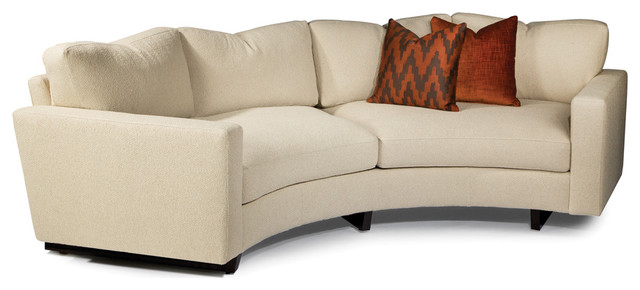 Clip Curved Sofa From Thayer Coggin Contemporary Sofas