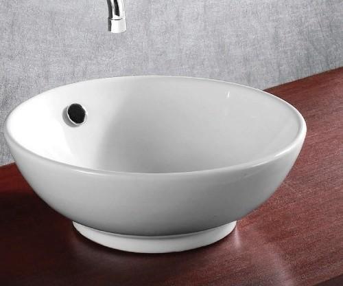 Beautiful Modern Round Ceramic Vessel Bathroom Sink modern-bathroom ...