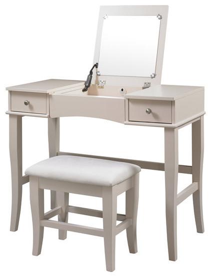 jackson vanity set modern bedroom makeup vanities