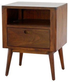 Fifties nighstand midcentury nightstands and bedside for Tansu bathroom vanity