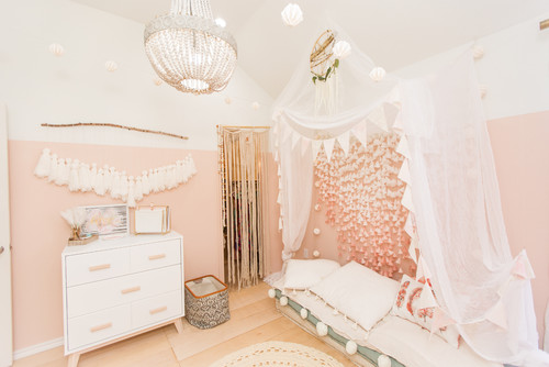 Boho Scandinavian Girls Room