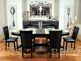 The Elite Poker Dining Table Contemporary Dining