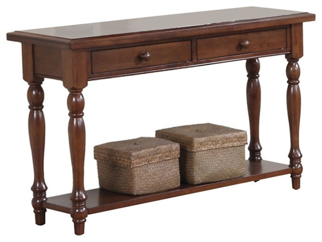 Entryway Hallway Console Sofa Table With Storage Drawers