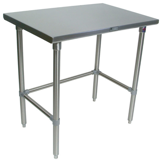 john boos stainless steel work table 14 gauge ss top boos kitchen island kitchen ideas
