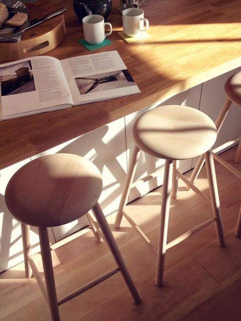beech kitchen stools 3