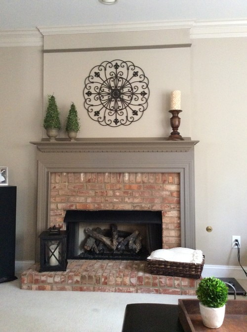Please Help Paint Color Of Fireplace Trim And Mantle