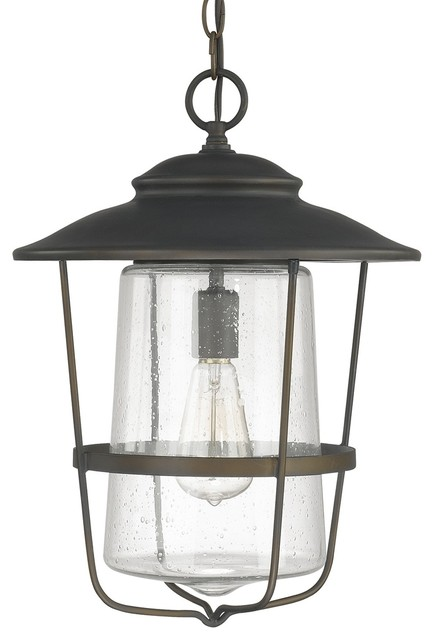 Capital Lighting 9604OB Creekside 1 Light Outdoor Hanging
