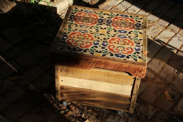 quot smyrna quot crate table storage bench 18 quot x 20 quot x 20 smyrna bathroom transitional bathroom other metro