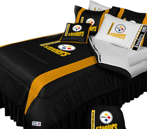 Pittsburgh Steelers Football Queen-Full Bed Comforter Set ...
