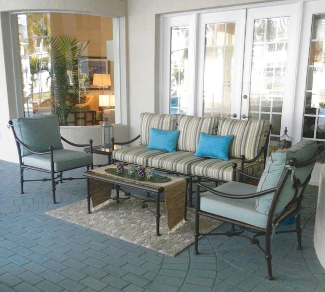 Florida gulf home patio jacksonville di marlene for Idee portico florida