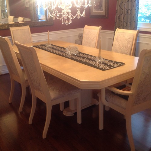 Restain dining table diy restaining kitchen table and chairs for the home how to restain a - Restaining kitchen table ...