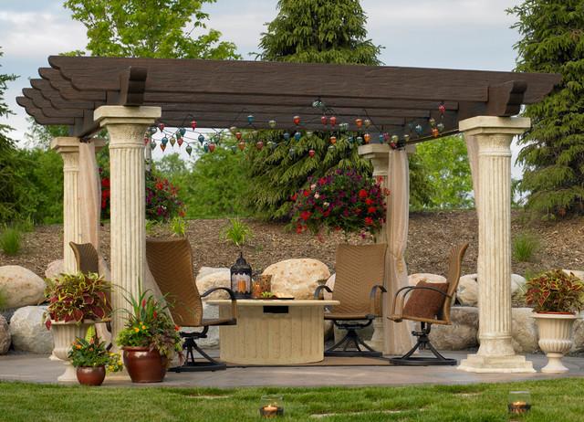 Outdoor Greatroom Mediterranean Gazebos Minneapolis