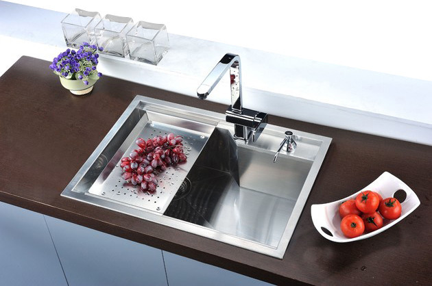 Kitchen Sink Attachments : Dawn DSQ2417 Sink Colander - Modern - Kitchen Sink Accessories - by ...