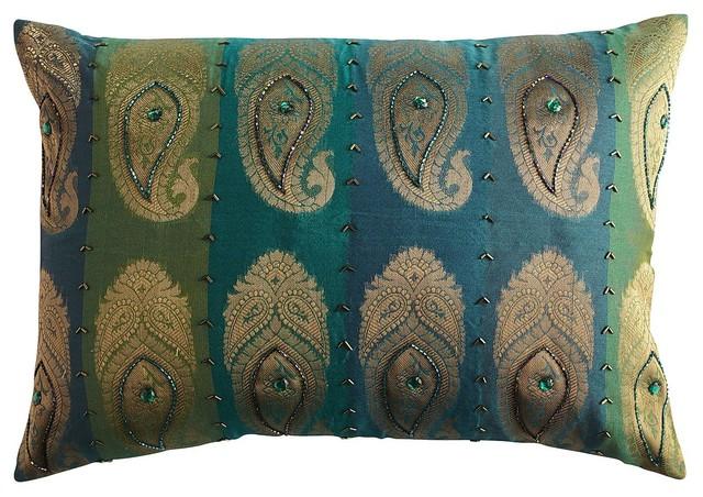 Decorative Throw Pillows Pier 1 : Pier 1 Woven Paisley Pillow