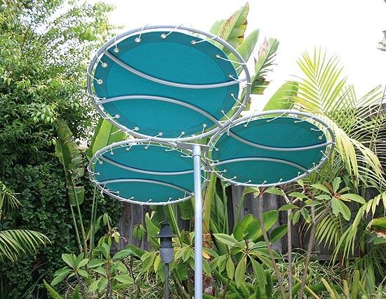 Tri Corale Sun Shade Modern Outdoor Umbrellas By Inmod