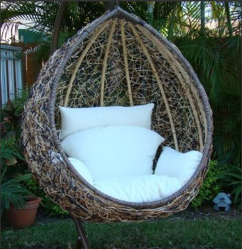 outdoor swinging seat 2
