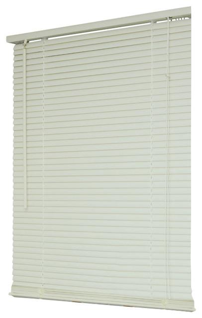 Vinyl 1 mini window blinds venetian blind 64 long for Blinds for long windows