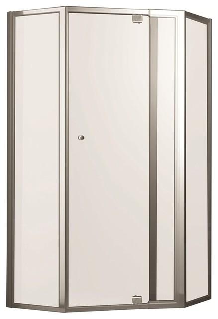 Rick McLean 39 S Designer Bathware 770mm White M7 Smart Pivot Shower Screen