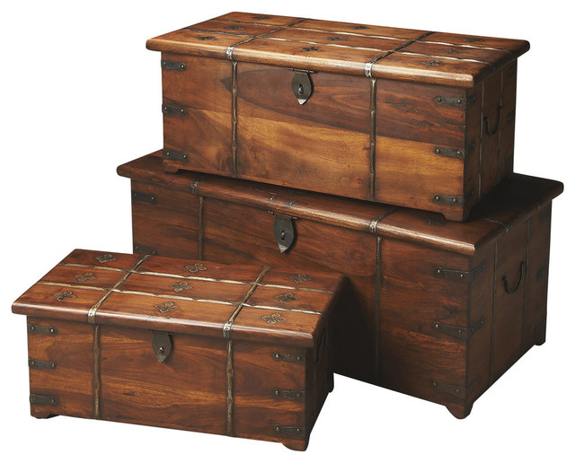 pin wood trunk decorative trunks steamer storage on pinteres