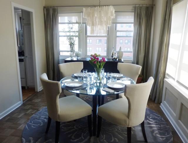 Manhattan Condo Contemporary Dining Room New York