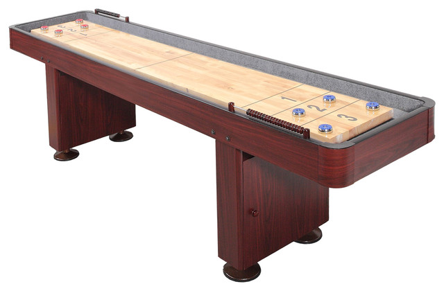 Blue Wave 9 Shuffleboard Walnut Traditional Game