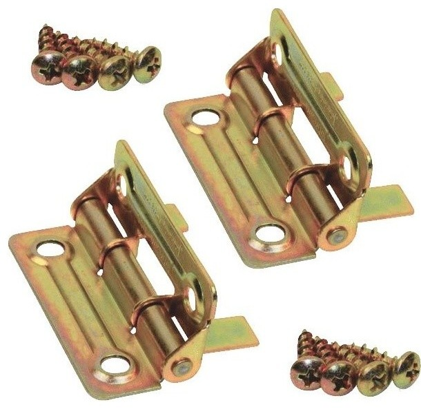 Dull Brass Hinge - Traditional - Hinges - by Hipp Modern Builders Supply