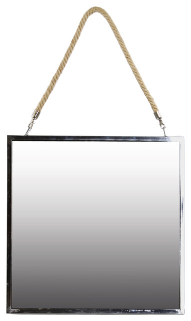 Stainless steel square mirror large wall mirrors by for Big square wall mirror