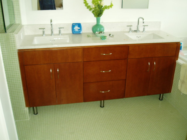 European Style Bathroom Cabinets - Contemporary - Bathroom ...