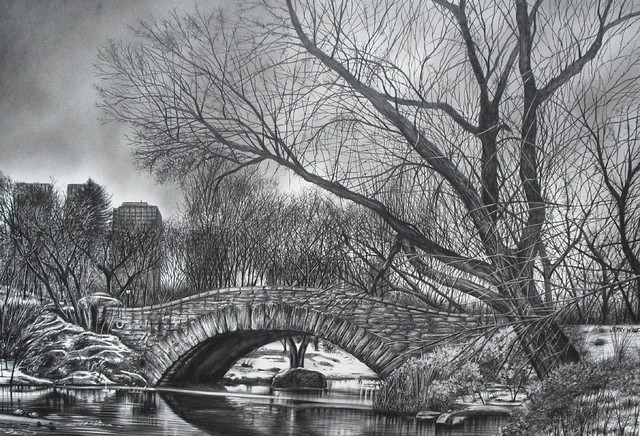 Pencil drawings by jerry winick