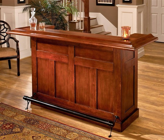 Classic Wood Home Bar Contemporary Wine And Bar Cabinets By