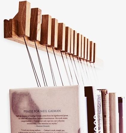 book rack b cherregal eiche skandinavisch regalsysteme other metro von anchovis design. Black Bedroom Furniture Sets. Home Design Ideas