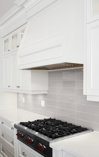 Soho Wall Tile Collection Warm Grey Kitchen Backsplash