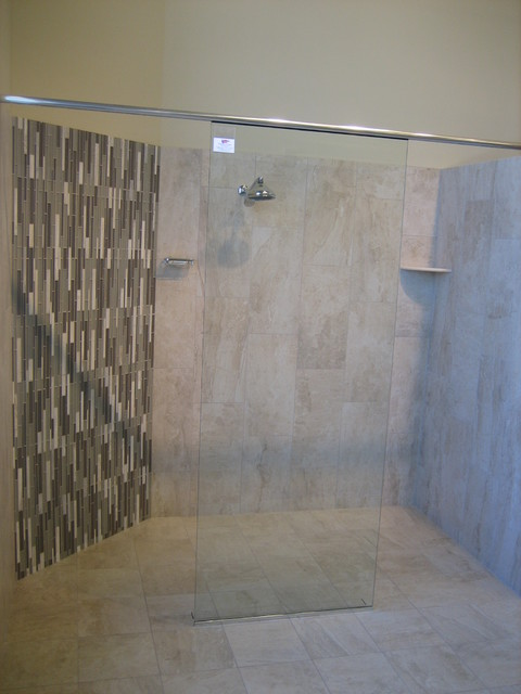 Tile Works Maple Grove : Marmi daino reale contemporary bathroom