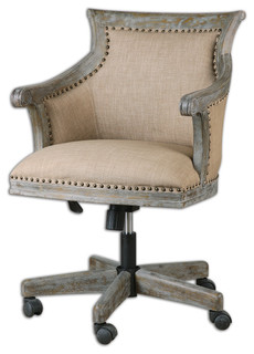 Kimalina Accent Chair By Uttermost Transitional Armchairs And Accent Chai