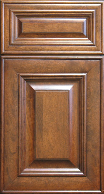 Victorian style cherry raised panel cabinet door and for Door and drawer fronts