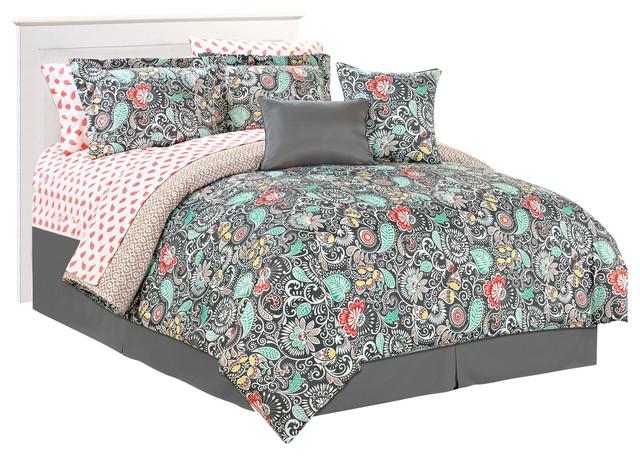 Alessandra 10 Piece plete Bed Set Queen Bedroom