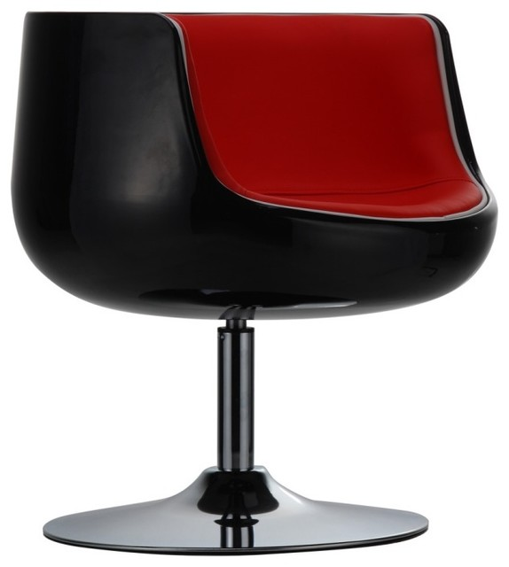 loungesessel mojito schwarz rot modern armchairs. Black Bedroom Furniture Sets. Home Design Ideas
