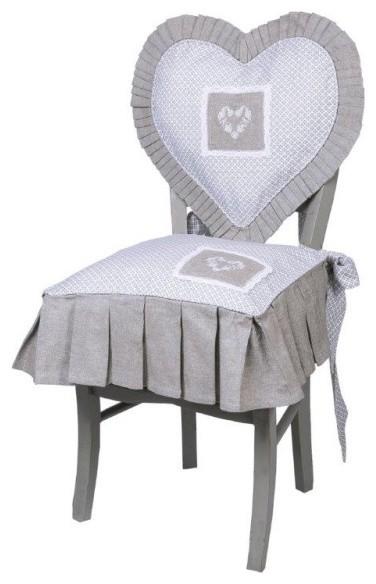 galette de chaise cl mence campagne coussin de chaise other metro par lilie rose d co. Black Bedroom Furniture Sets. Home Design Ideas