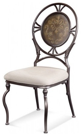 Bassett Mirror Cameo Dunhill Side Chair D1419 S800