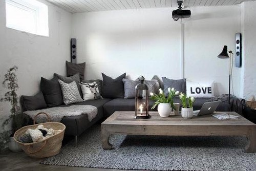 Charcoal couch gray walls decorating help - Decorating with gray furniture ...