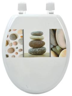 toilet seat 17 x 14. Kohler  Park Avenue Collection Fantasia 17 Inch Navy Soft Standard