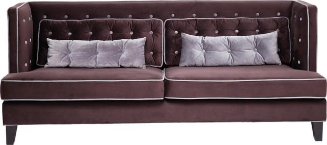 sofa denver velvet 3 sitzer contemporary sofas by. Black Bedroom Furniture Sets. Home Design Ideas
