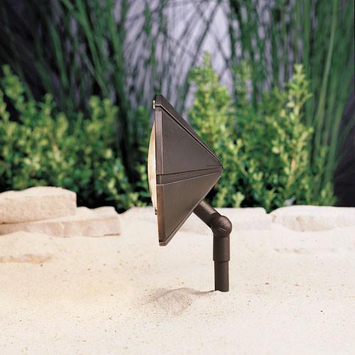 Bronzed Brass Adjustable Wall Wash Accent Light Modern Outdoor Lighting