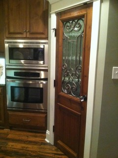 Antique door used as kitchen pantry door - other metro - by Charles Phillips Antiques and ...
