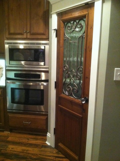 Antique Door Used As Kitchen Pantry Door Other Metro