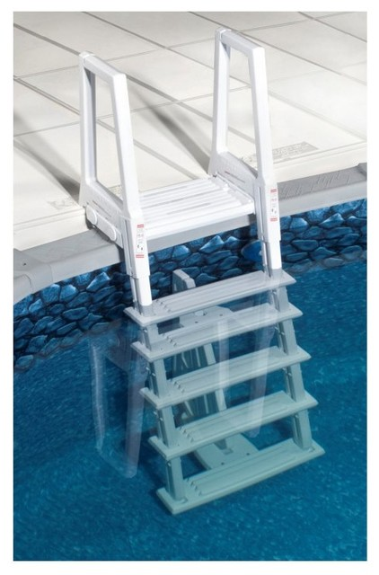 swim time heavy duty in pool ladder ne1175 contemporary hot tub and pool supplies