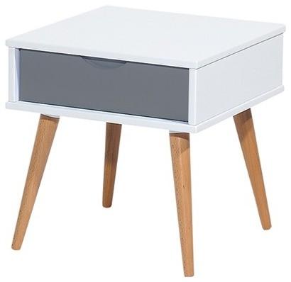 vasby bedside table milan direct scandinavian. Black Bedroom Furniture Sets. Home Design Ideas