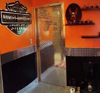 Harley Davidson Bathroom - Bell - Transitional - Other ...