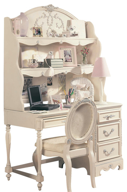 Lea Jessica Mcclintock Computer Desk With Hutch And Chair